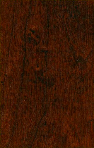 burgundy wood stain